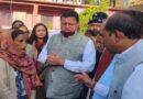 CM ने आपदा प्रभावितो से मुलाकात की